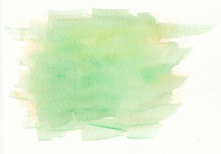 paper textures: faded wet green yellow smooth paper textures Stock Photo