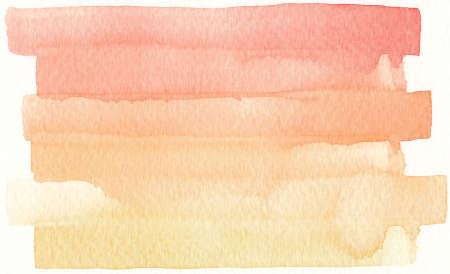 brushstroke: red orange shades watercolor brushstroke abstract background