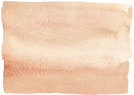 tones: rough sepia tones abstract watercolor background Stock Photo