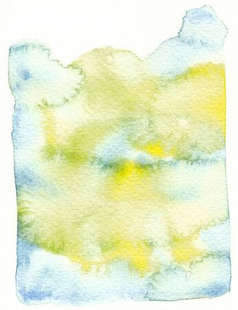 backgroung: blue yellow watercolor backgroung