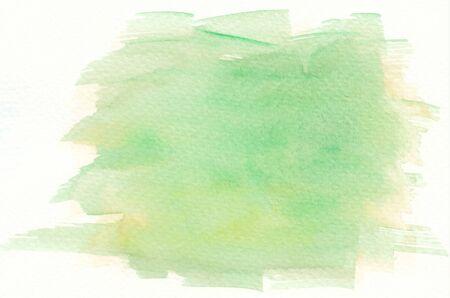 brushstroke: green abstract watercolor brushstroke background