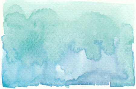 hue: wet green abstract watercolor background