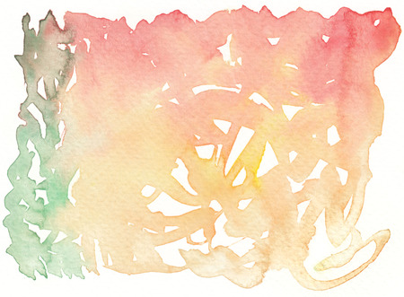 brushstroke: watercolor colorful brushstroke abstract background
