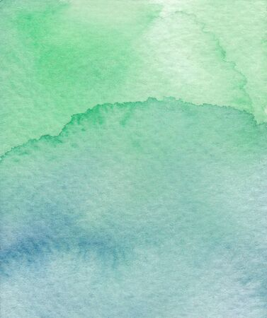 is wet: green wet watercolor abstract background