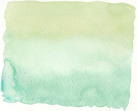 faded: faded green shading tones abstract wet watercolor background Stock Photo