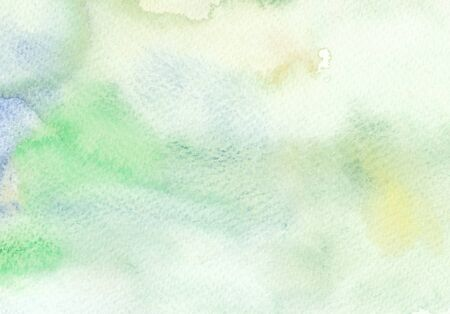 faded: abstract faded green blue tones watercolor background