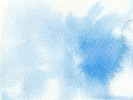 faded: blue faded wet abstract watercolor background