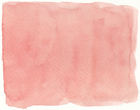 simple background: abstract flat simple plain red watercolor background Stock Photo
