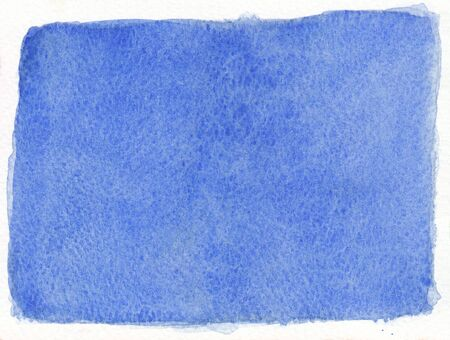 simple background: flat simple plain blue abstract watercolor background