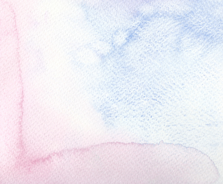 faded: abstract faded purple blue watercolor background Stock Photo