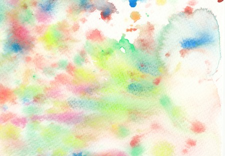 textures: colorful wet textures watercolor background Stock Photo