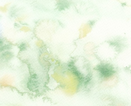faded: faded wet green watercolor abstract background