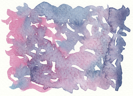 background textures: chaos textures purple violet abstract watercolor background Stock Photo