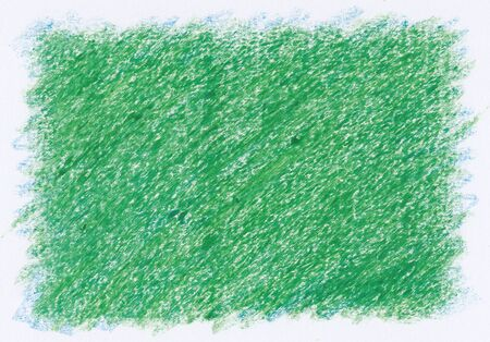 intense: intense green close up rough textures red crayon abstract background Stock Photo