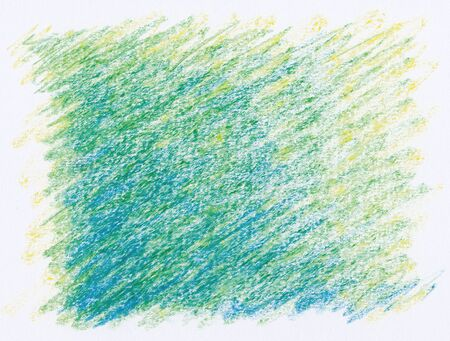 abstract green shading crayon textures background