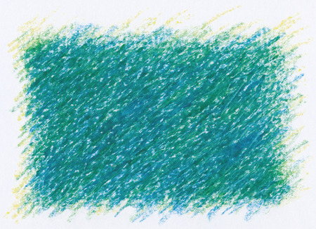 square shape: intense dark green square shape abstract textures crayon drawing background