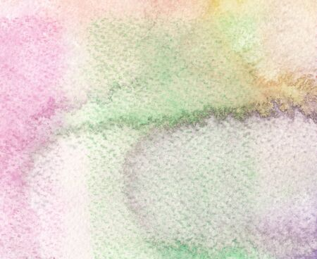 colorful green tones abstract watercolor background