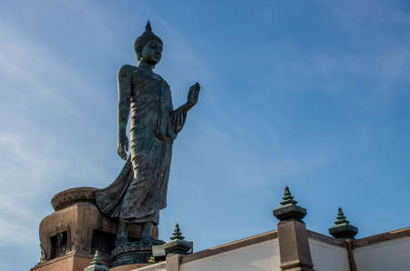 nakhon pathom: buddha statue Stock Photo