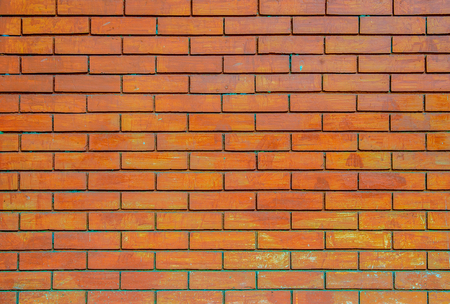 vignetted: Brick wall background.