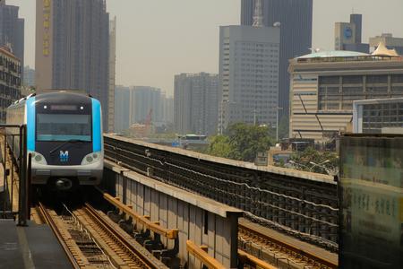 Rail transit on the railway