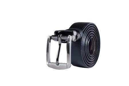 Black Belt on white background Stock Photo - 9789454