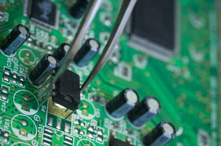 repairing Circuit board photo