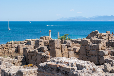 phoenicians: Archaeological site located on the Sea of Sardinia dating back to the Phoenicians