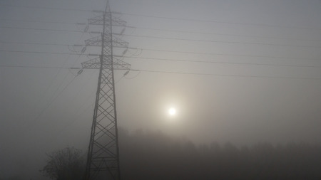 reduces: very dense fog reduces visibility