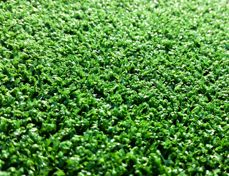 portion of the synthetic turf used for sports flooring