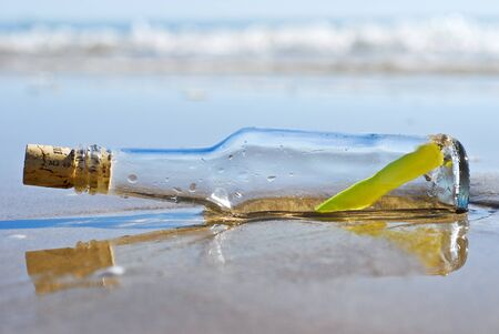 message in a bottle Stock Photo - 9404960