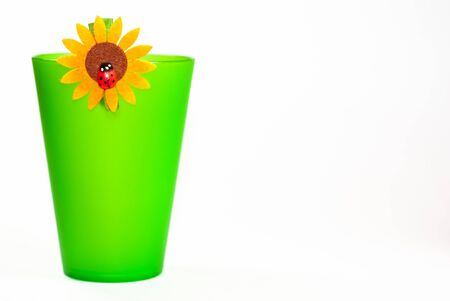 colored vases photo