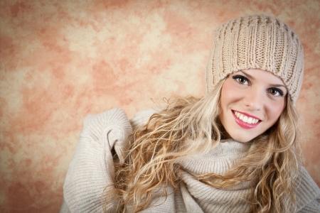women s fashion: winter portrait