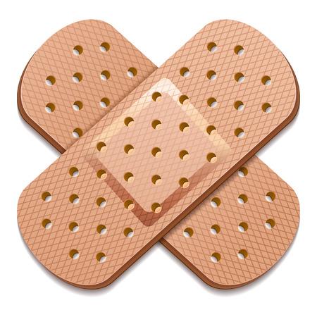 adhesive bandage Illustration