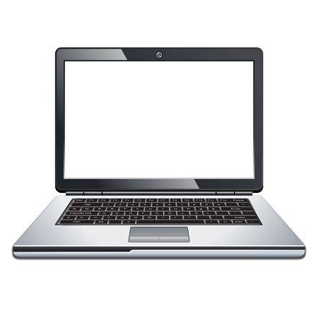 laptop isolated: Laptop isolated on white background