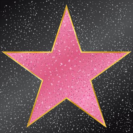 つ星。 ウォーク オブ フェイム