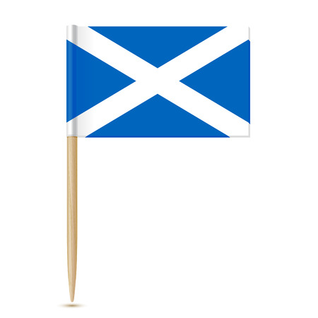 scotish: Scotland Flag toothpick 10eps