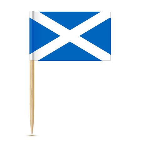 Scozia Flag stuzzicadenti 10eps