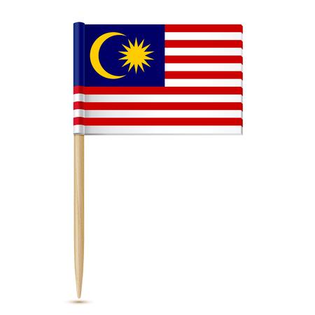 Bandiera della Malesia stuzzicadenti