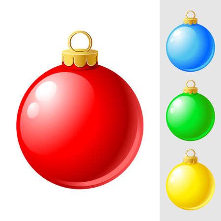 Christmas ornament Vektoros illusztráció