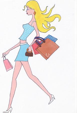 Young blond woman Reklamní fotografie
