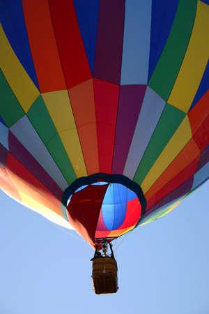hot air balloon eight Reklamní fotografie
