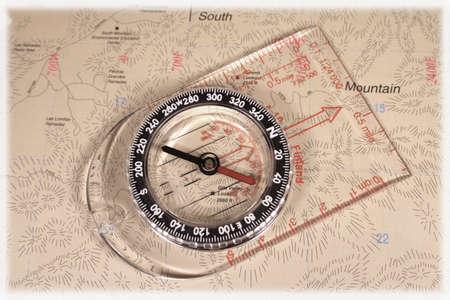 representations: map compass