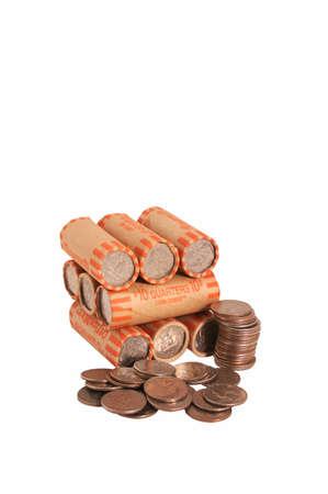 moola: quarters Stock Photo