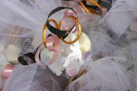 Des faveurs de mariage Banque d'images - 461838