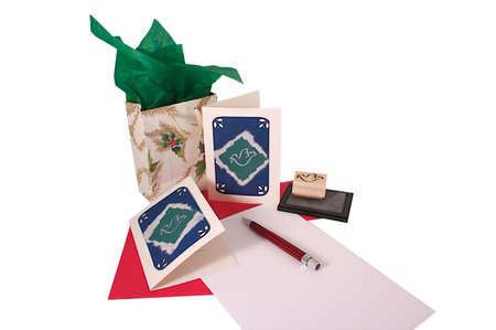 levelezés: correspondence Stock fotó