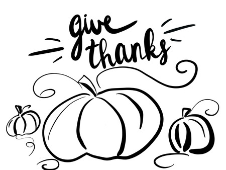 3111 Give Thanks Cliparts Stock Vector And Royalty Free Give