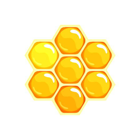 combs: Honey. Honeycomb icon. Honey icon. Sweet food icon. Honey combs vector. Vector illustration. Illustration
