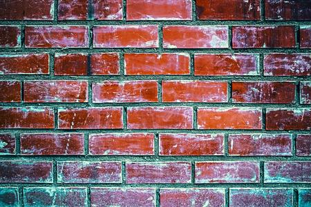 Brick wall. Old bricks.Grunge texture. Brick background