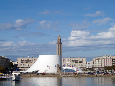 le: le havre, city view Editorial