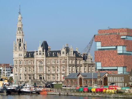 antwerp: Antwerp skyline - Port View